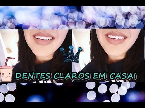 Como Clarear Seus Dentes Em Casa Gabriela Melo Youtube