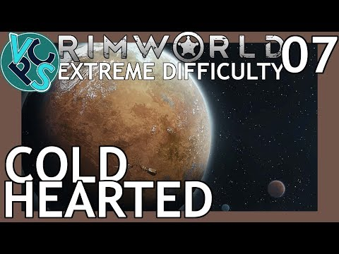 Rimworld Beta 18 EP07 - Cold Hearted - Extreme Difficulty No Turrets No Traps Beta 18