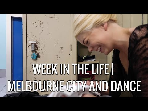 Week in my life as a dancer | Melbourne City VLOG