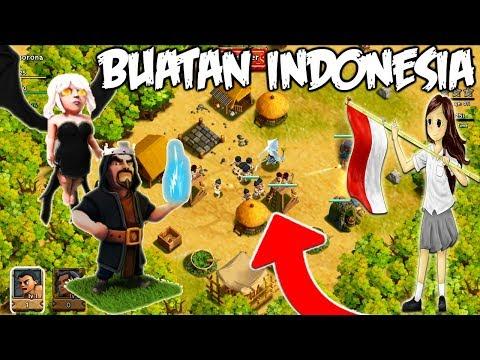 Game Mirip COC / Clash Of CLans Buatan INDONESIA Tidak Kalah KEREN !!