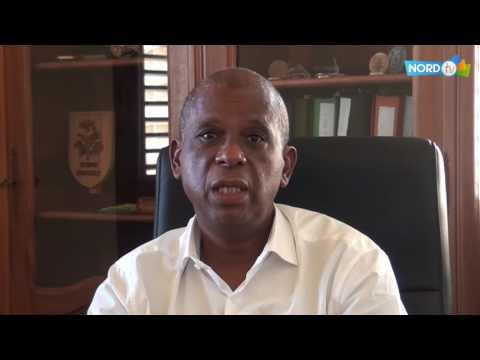Voeux 2017 : Christian RAPHA, Maire de la Ville de Saint-Pierre