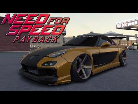 Tunando O Mazda RX-7 Do HAN V&F: TOKYO DRIFT - Need For Speed Payback