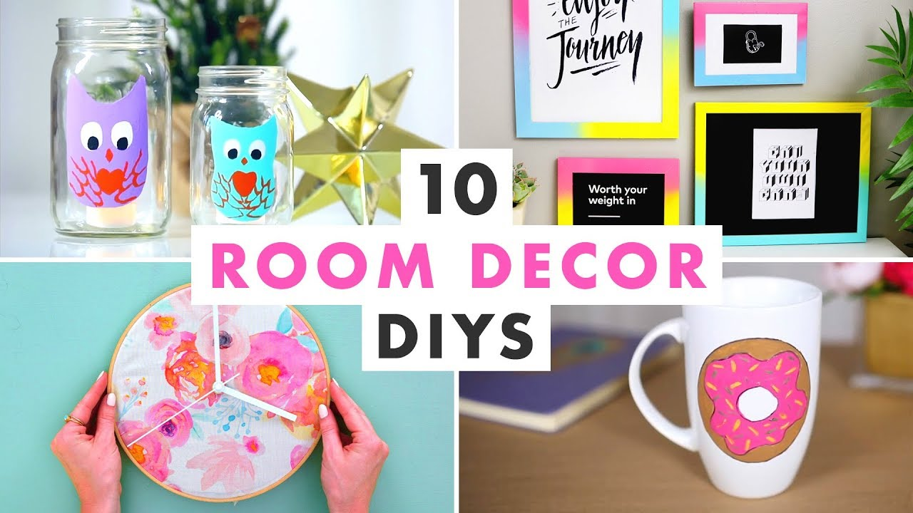 10 Room Decor DIYs - HGTV Handmade