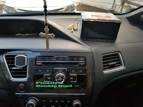 13-15 Civic Si NEX 4200 Install And Chromecast Install