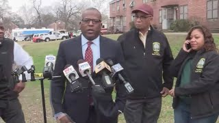 Allen Benedict Court apartments evacuated after two die: full news conference