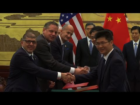 China-US Sign 9 Billion Dollar Deal