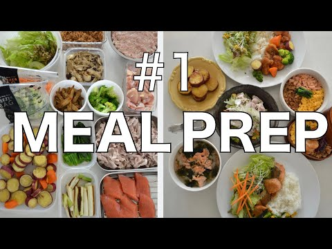 ★Japanese MEAL PREP★ Healthy and Delicious Meal & Bento! (EP140)