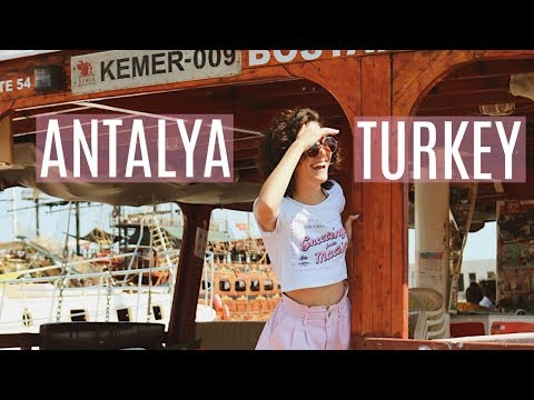 Travel Diary: ANTALYA, TURKEY 2018 | Miss M