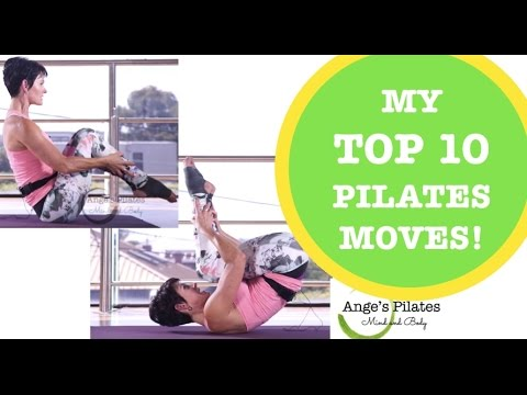 Pilates 20 Minute Workout - Top 10 Pilates Moves