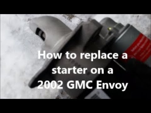 How To Replace A Starter On 2002 Gmc Envoy