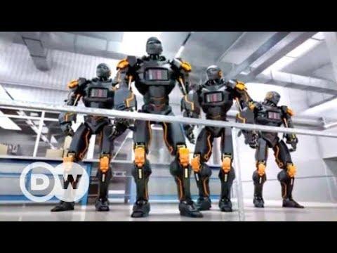 Los robots se