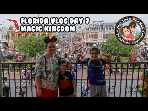 FLORIDA VLOG | 40th Birthday at The Magic Kingdom! | Day 07 | Tiger Tom and Wild Will
