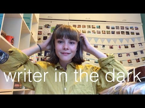 writer in the dark - lorde cover