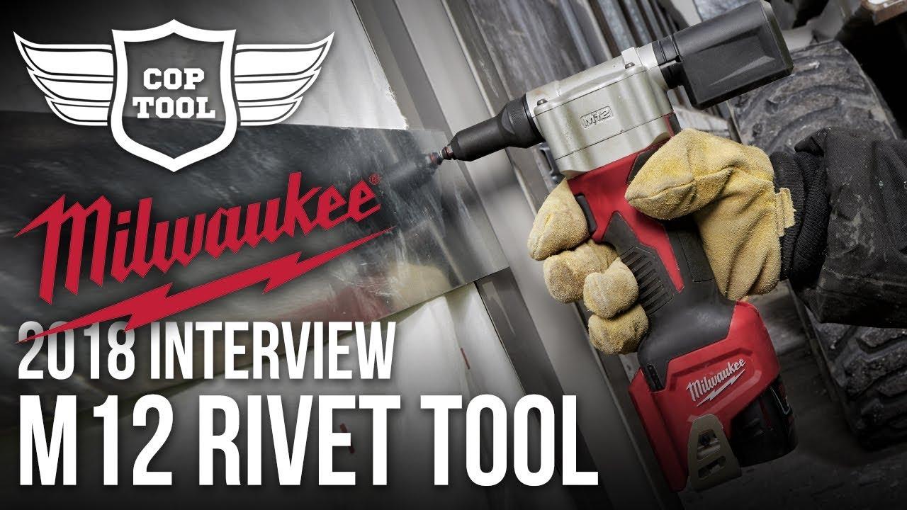 Milwaukee M12 Rivet Tool 2550-22 Up to 3/16