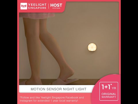 YEELIGHT RECHARGEABLE MOTION SENSOR NIGHTLIGHT