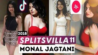 Monal Jagtani || splistvilla 11 latest musically || Tik tok || complications