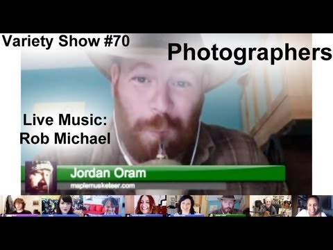 #70 Photographers, YouTubers, & Live Music from Rob Michael