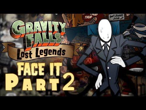 Part 2 - BEASTS BELOW THE FALLS!? - Gravity Falls Comic Dub (Gravity Falls Lost Legends: Face It)