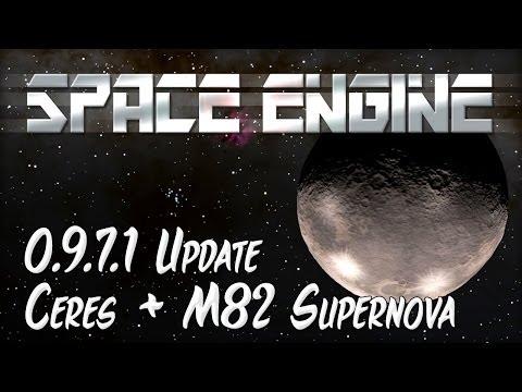 Space Engine 0.9.7.1 Update - Dwarf Planet Ceres & M82 Supernova