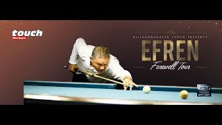 Efren Reyes Farewell Tour - Final Clash of The Titans (6/8) Stop Freiberg / Germany