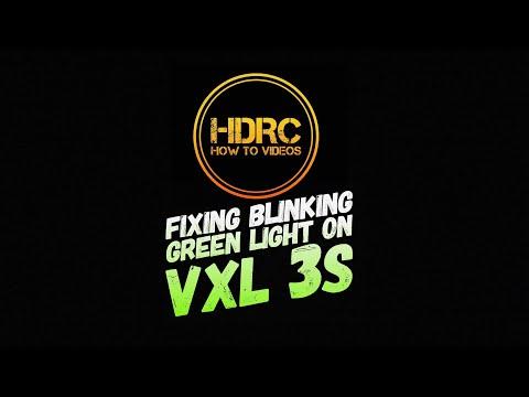 HOW TO FIX FLASHING/BLINKING  GREEN VXL 3S ESC LIGHT (FIXED)