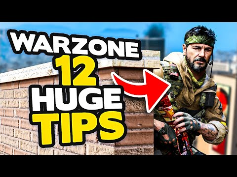 *NEW* Warzone 12 HUGE tips to INSTANTLY get BETTER  (Modern Warfare Warzone)