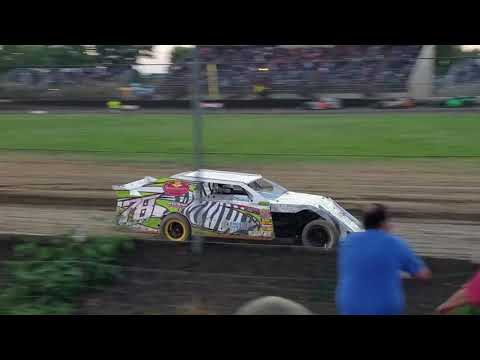 Ocean Speedway, Watsonville, CA - 7/20/18 - IMCA Sport Mods, Main Race - Dave Smart #78