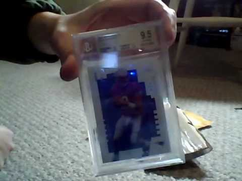 2000 Sp Authentic Tom Brady 118 Bgs 95 Rookie Card Carboardology Episode 1 Mail Day
