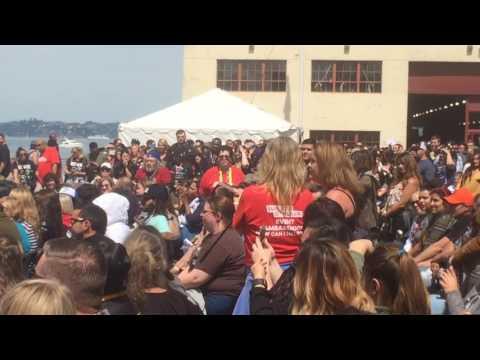 Walker Stalker Con: San Francisco - Jeffrey Dean Morgan Panel Footage Part 1