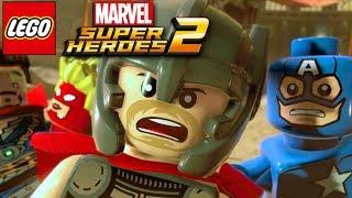 Лего Марвел Супергерои 2 МСТИТЕЛИ 4 серия. Лего мультики на русском языке марвел