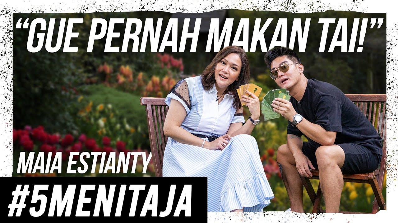 JOROK! MAIA ESTIANTY MAKAN KOTORAN-NYA SENDIRI! | #5MENITAJA