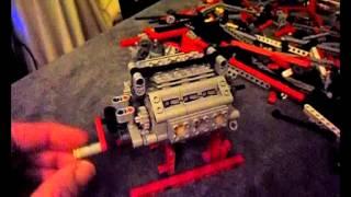 Moteur W12 légo Technic