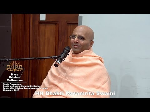Why take to spiritual life at a young age? - HH Bhakti Rasamrita Swami