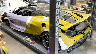 Starting the BODY work on my McLaren 720s !- Episode 17