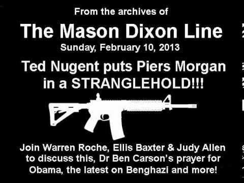 Ted Nugent puts Piers Morgan in a STRANGLEHOLD! Dr. Ben Carson's prayer for Obama, Benghazi and more