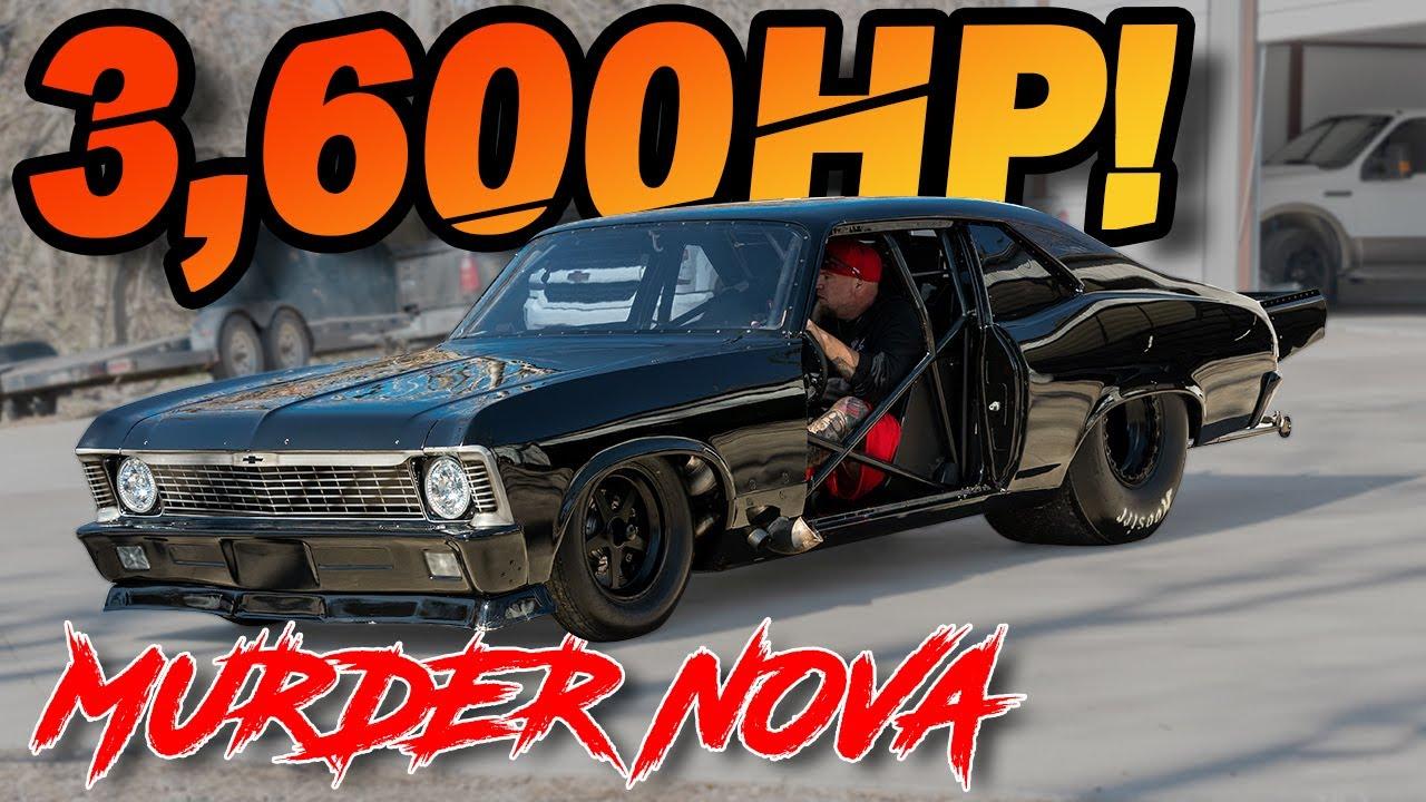 "3600HP Murder Nova ""No Prep Kings Build"" - 482ci with 98MM Turbos on 70PSI (STREET OUTLAW Garage)"