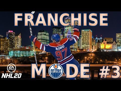 NHL 20 Franchise Mode -Edmonton Oilers #3 PLAYOFFS AND DRAFT DAY!!!