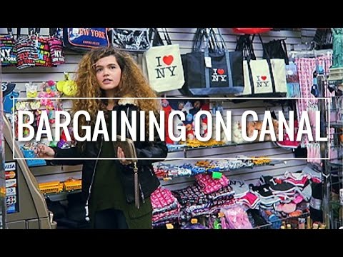CANAL STREET DEALS & TARGET IN MANHATTAN | VLOG