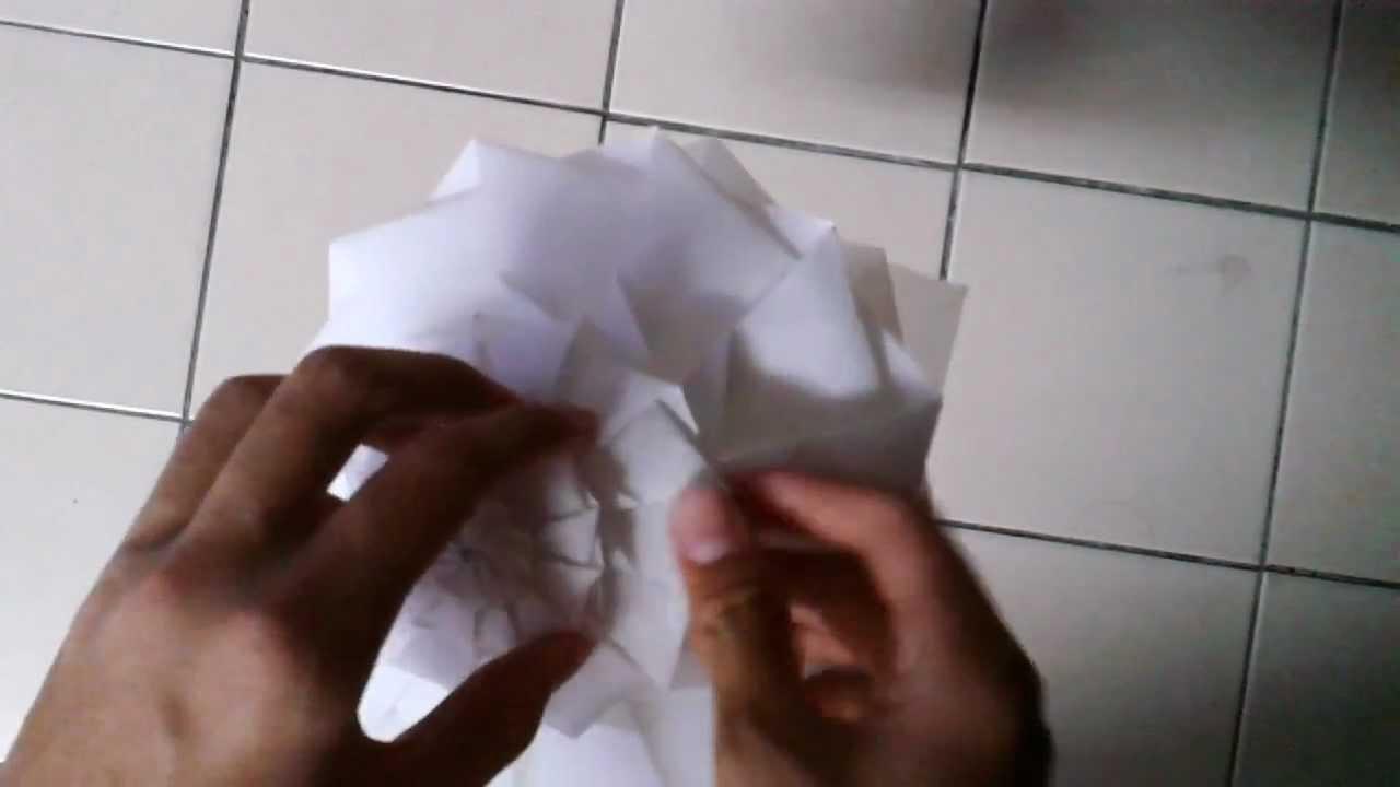 Origami flower tower designed by chris palmer youtube origami flower tower designed by chris palmer mightylinksfo