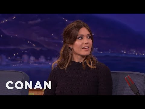 """Mandy Moore Works As An Actor & Babysitter On """"This Is Us""""  - CONAN on TBS"""