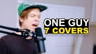 One Guy, 7 Cover Songs (Post Malone, Justin Bieber, Ed Sheeran & Lewis Capaldi)