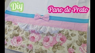Pano de Prato Decorado – Decorated Kitchen Cloth