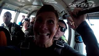 Cathy Fischer's Tandem skydive!