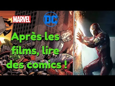 Marvel, DC : Après les films se lancer dans les comics !