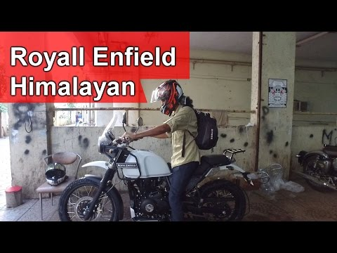 Royal Enfield Himalayan | Taking delivery of my twin's first motorcycle