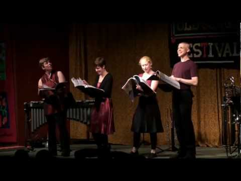 """*Asterisk performs """"Geographical Fugue"""" by Ernst Toch"""
