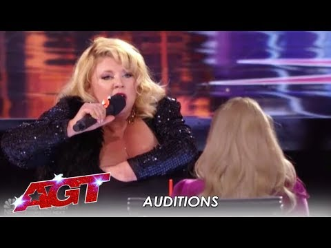 Kara w/a 'K' Comedy: You Won't Believe What She Pulls Out Of Her Bra! | America's Got Talent 2019