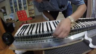 Roland RD-700SX Digital Piano Repair [English CC]