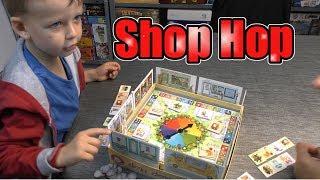 Shop Hop (Piatnik) - ab 6 Jahre - Teil 256 - Einkaufen mit Spielgeld :-)