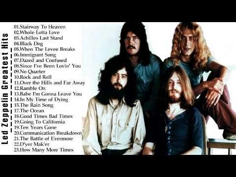 Led Zeppelin Greatest Hits  -  Best Songs Of Led Zeppelin    HD/HQ